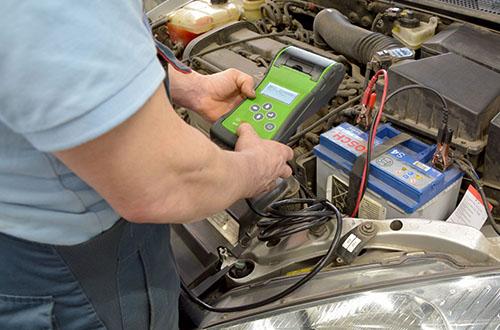 Bosch Car Service Erfurt Autowerkstatt Batteriecheck