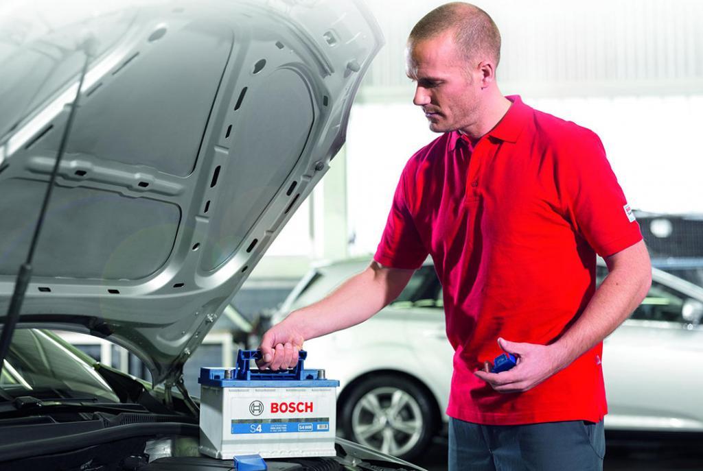 Bosch Car Service Erfurt Autowerkstatt Batterieservice