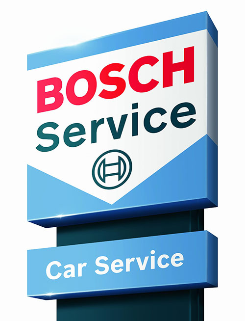 Bosch Car Service Erfurt Pylon