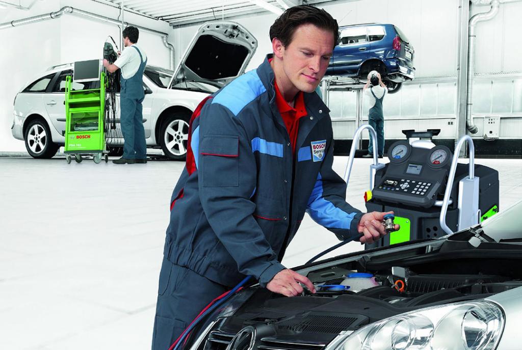 Bosch Car Service Erfurt Autowerkstatt Heizungs- und Klimaservice