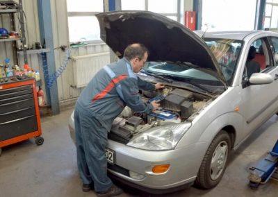 Bosch Car Service Erfurt KFZ Werkstatt Ölwechsel